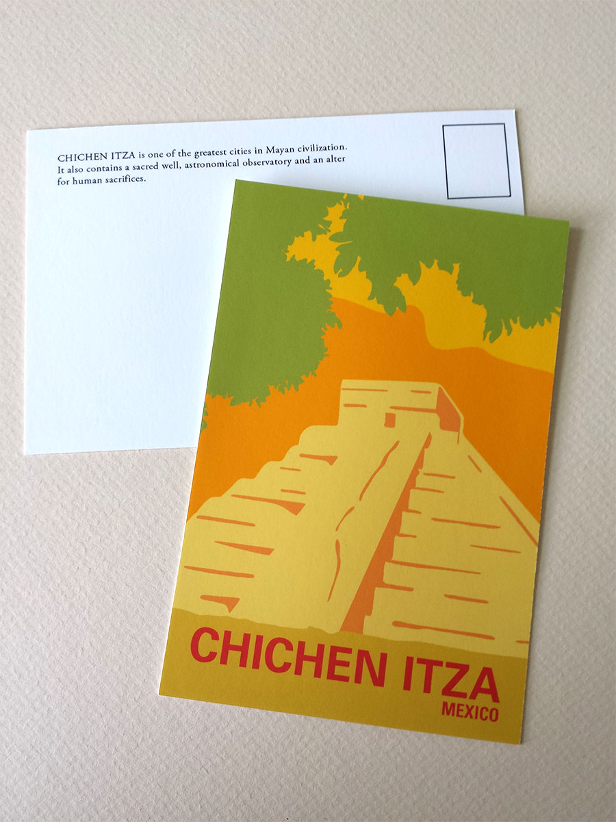 ChichenItza_Postcard